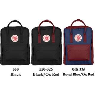 100% Original Fjallraven Kanken Backpack