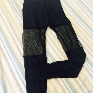 精雕細塑 日本高丹輕機能冰絲著感顯瘦外搭踩腳褲