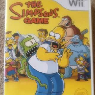 The Simpsons Wii game