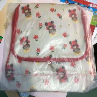 小熊時尚防潑水後背包