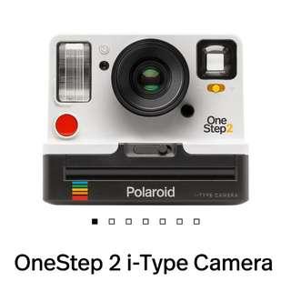 美國直送 預訂 Polaroid OneStep 2 i-Type Camera Polariod OneStep 2 新機