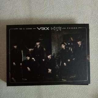 VIXX The 1st Album Voodoo 저주인형