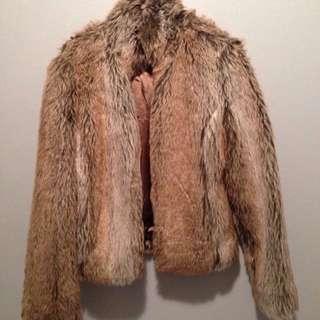 WAREHOUSE Fur Jacket
