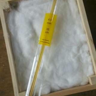 Acrylic Knitting Needles 4mm