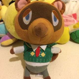 Tom Nook plush 💕