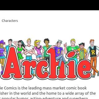 Archies Comics Books