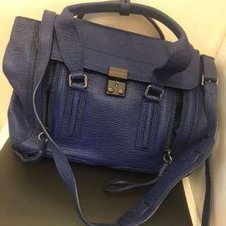 3.1 Philip Lim The Pashli Medium textured-leather trapeze bag