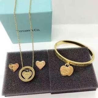 Tiffany & Co. Jewelry Set
