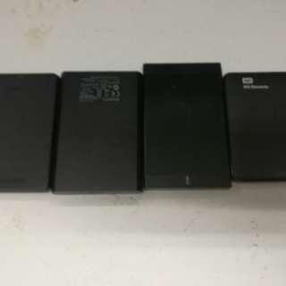 Portable hardrive 500gb 1tera