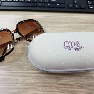 ans琥珀色太陽眼鏡
