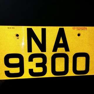 私讓車牌 NA9300 😙當白馬王子遇上至愛公主😍