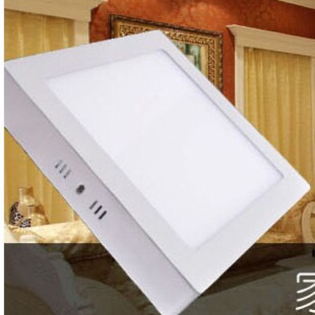 18w Led Ceiling Panel Light Square