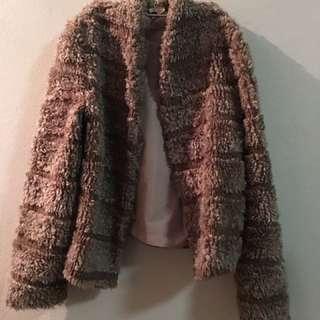 Vintage Fluffy Fur Jacket