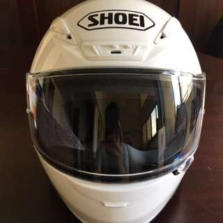 Brand New Original Shoei RF-1200 XXL White Full Face Helmet for Motorcycle Big Bike Sports Bike