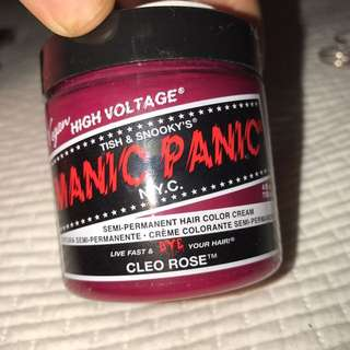 Manic panic cleo rose hair fudge