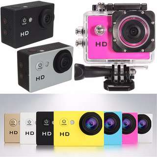 Sports HD DV Action Camera 1080P Full HD with LCD
