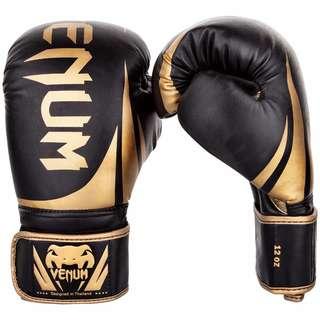Authentic Venum Challenger 2.0 Boxing Gloves (Black/Gold)
