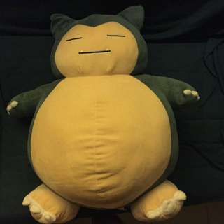 Large Snorlax Plush Toy