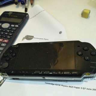 PSP 3000 (NEW BATTERY) +Charger