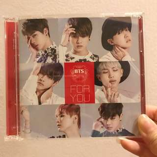 BTS Japanese single 'FOR YOU' Album