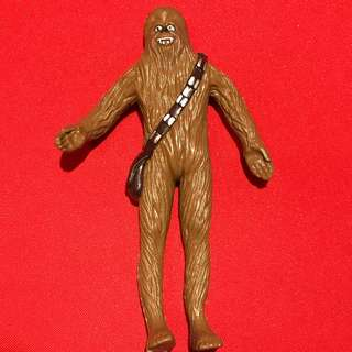 CHEWBACCA - BendEms Figure (loose) Star Wars 1993 Just Toys