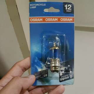 Osram motorcycle light bulb
