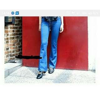 Cut bray jeans