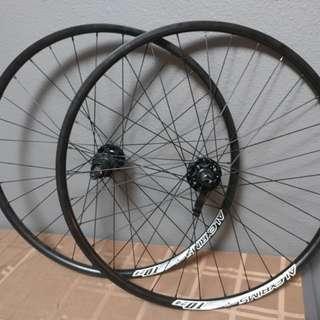 """26"""" Alexrims wheelset"""