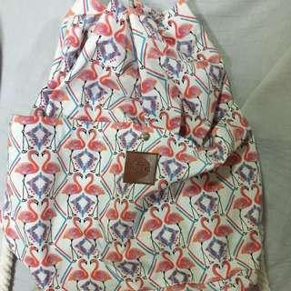 Flamingo Rucksack/Backpack