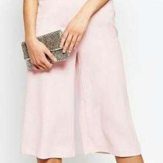 ONHAND SQUARE PANTS IN LIGHT PINK