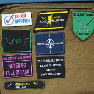 ❗❗SG MORALE PATCHES 🇸🇬