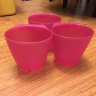 IKEA plastic tubs
