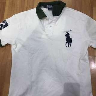Ralph Lauren Big Pony White Custom Fit