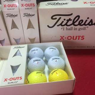 Titleist X-Out Golf Balls