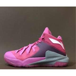 李寧 Li-Ning 韋德之道 隊尚3代 桃紅色 男 籃球鞋 US13=EUR47.5=30.5CM