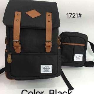 HERSCHEL SET (bagpack & sling bag)