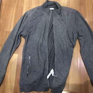 Gray Sweater / Bomber jacket G2000 Man