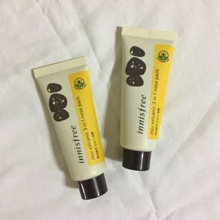 Innisfree jeju volcanic 3 in 1 nose pack 40mL