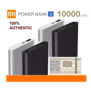 Xiaomi Powerbank 2 Gen2 Power Bank 10000 mAh