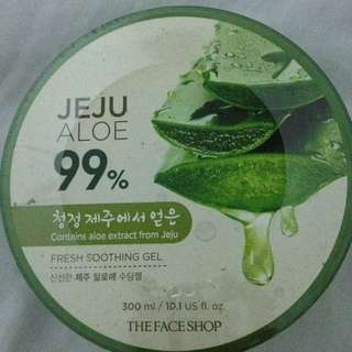 Authentic The Face Shop Jeju Aloe 99%