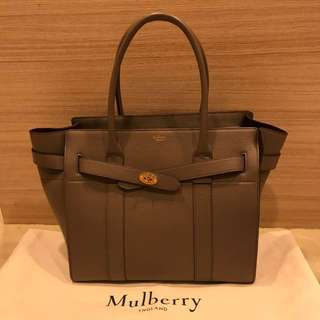 Like New Mulberry zipped bayswater bag