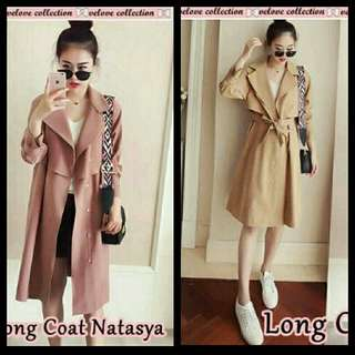 Blazer long coat natasya