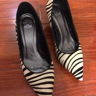 TAS豹紋鞋