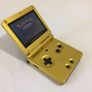 Nintendo Gameboy SP (Zelda Edition) Refurbished