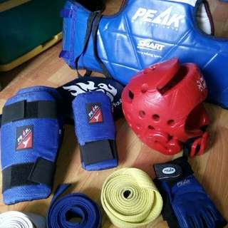 TAEWONDO SPARRING GEAR