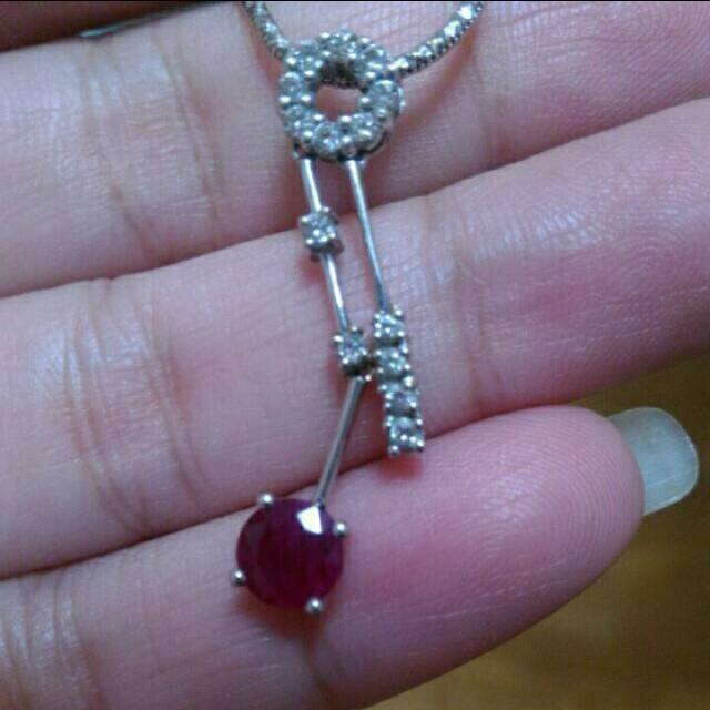 紅寶石項鍊