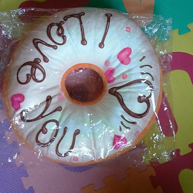 甜甜圈造型坐墊