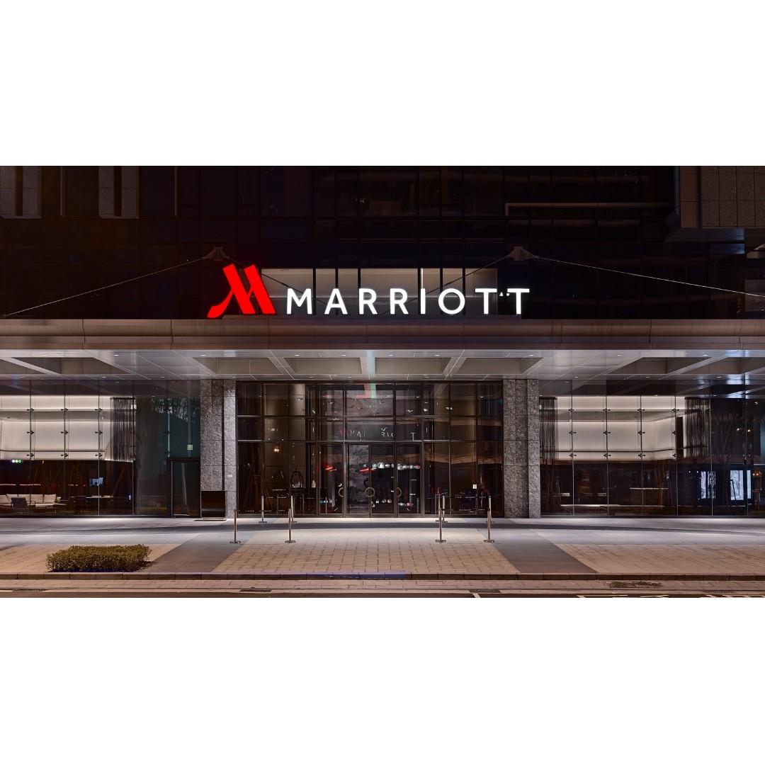 換現金  出清  台北萬豪酒店Taipei Marriott Hotel  平假日 經典客房住宿券(含2客早餐)