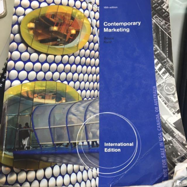 行銷管理 Contemporary Marketing