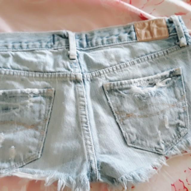Abercrombie sexy denim shorts